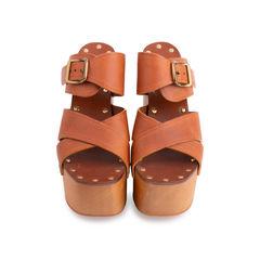 Platform Wooden Sandals