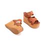 Authentic Second Hand Céline Platform Wooden Sandals (PSS-606-00027) - Thumbnail 2