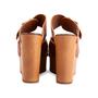 Authentic Second Hand Céline Platform Wooden Sandals (PSS-606-00027) - Thumbnail 5