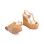 Authentic Second Hand Prada Wicker Wedge Sandals (PSS-606-00029) - Thumbnail 2