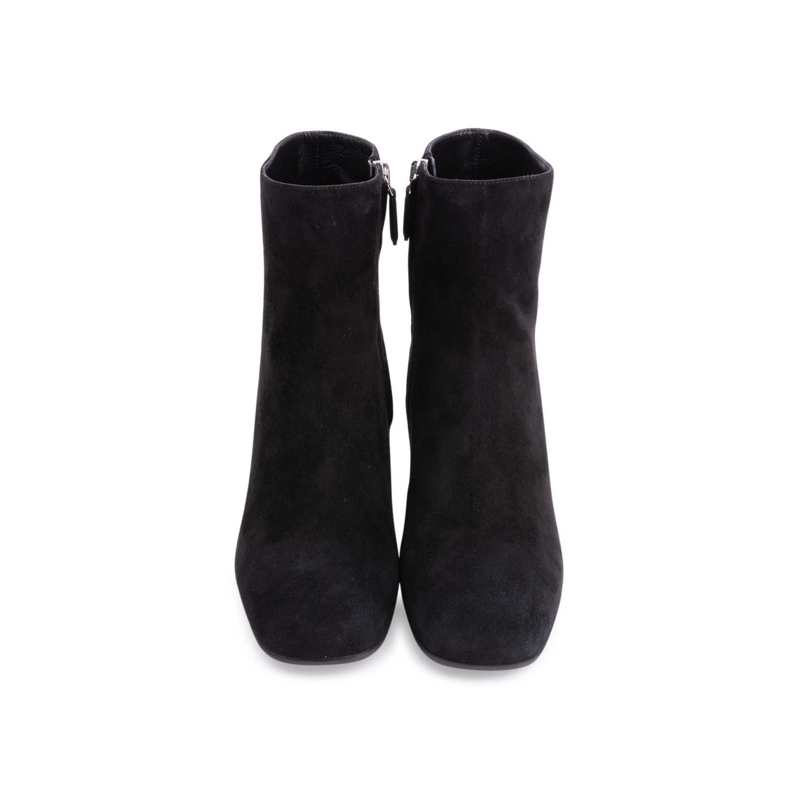 2f18b771904c66 Authentic Second Hand Prada Suede Ankle Boots (PSS-606-00032) - Thumbnail  ...