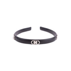 Salvatore ferragamo gancini leather hairband 2?1553149542