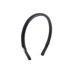 Woven Leather Hairband