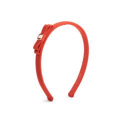 Orange Bow Hairband