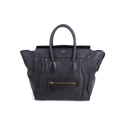 Authentic Second Hand Céline Mini Luggage Tote (PSS-466-00003)