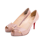 Authentic Second Hand Christian Louboutin Shelley Patent Pumps (PSS-514-00003) - Thumbnail 3