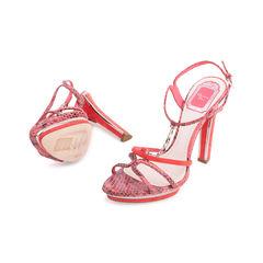 Christian dior python chain sandals 2?1553231946