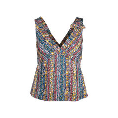 Printed Sleevless Top