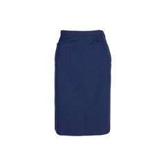 Inverted Pleated A-line Skirt