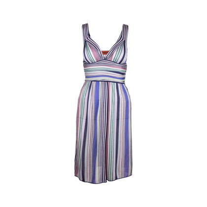 Authentic Second Hand Missoni Strapless Knitted Dress (PSS-340-00126)