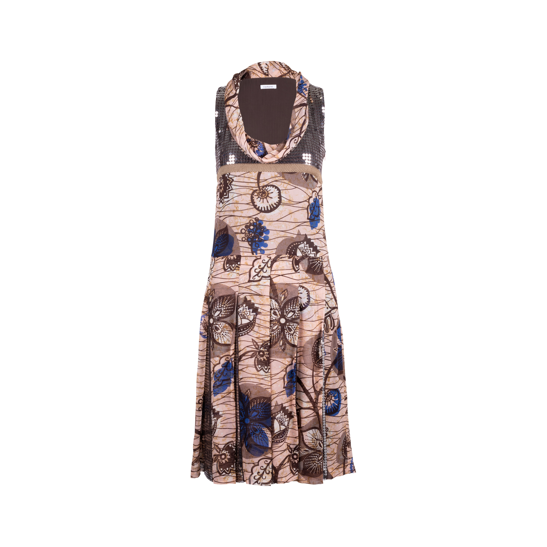 7febc3ad359 Authentic Second Hand Cacharel Printed Sequin Embellished Dress  (PSS-340-00127) - THE FIFTH COLLECTION