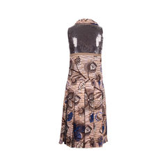 Cacharel printed sequin embellished dress 2?1553447436