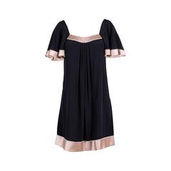 Silk Badot Dress
