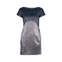 Authentic Second Hand Victoria Beckham Fall 2010 Metallic Shift Dress (PSS-606-00045) - Thumbnail 1