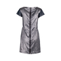 Authentic Second Hand Victoria Beckham Fall 2010 Metallic Shift Dress (PSS-606-00045) - Thumbnail 2