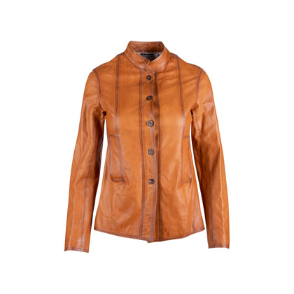 Authentic Second Hand Jil Sander Leather Jacket (PSS-606-00050)