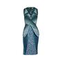 Authentic Second Hand Peter Pilotto Leaf Peplum Dress (PSS-606-00043) - Thumbnail 0