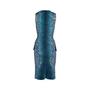 Authentic Second Hand Peter Pilotto Leaf Peplum Dress (PSS-606-00043) - Thumbnail 1