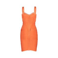 Herve leger melon bandage dress 2?1553499794