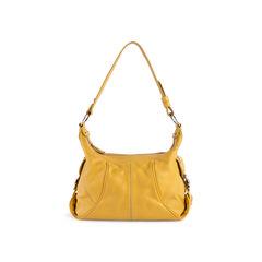 Grained Leather Shoulder Bag