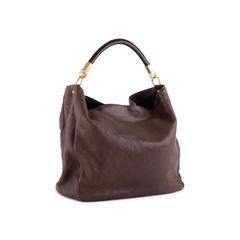 Yves saint laurent roady leather hobo bag brown 2?1553500034