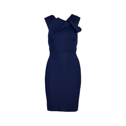 Authentic Second Hand Roland Mouret Stretch Origami Dress (PSS-340-00124)