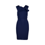 Authentic Second Hand Roland Mouret Stretch Origami Dress (PSS-340-00124) - Thumbnail 0