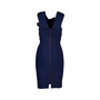 Authentic Second Hand Roland Mouret Stretch Origami Dress (PSS-340-00124) - Thumbnail 1