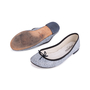 Authentic Second Hand Repetto Cracked Leather Ballerinas (PSS-033-00008) - Thumbnail 4