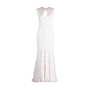 Authentic Second Hand Monique Lhuillier Chantilly Lace Open Back Gown (PSS-459-00030) - Thumbnail 0