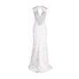 Authentic Second Hand Monique Lhuillier Chantilly Lace Open Back Gown (PSS-459-00030) - Thumbnail 1