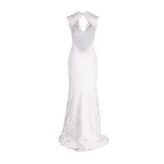 Monique lhuillier chantilly lace open back gown 3?1553596049
