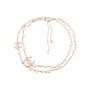 Authentic Second Hand Chanel Faux Pearl and CC Logo Necklace (PSS-037-00015) - Thumbnail 0