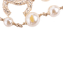 Authentic Second Hand Chanel Faux Pearl and CC Logo Necklace (PSS-037-00015) - Thumbnail 4