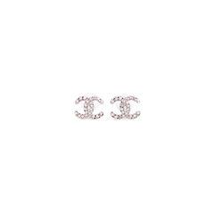 Chainlink Logo Stud Earrings