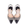 Authentic Second Hand Manolo Blahnik Checkered Slingback Pumps (PSS-244-00012) - Thumbnail 0