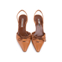 Authentic Second Hand Manolo Blahnik Lace Up Slingbacks (PSS-244-00013) - Thumbnail 0
