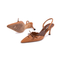 Authentic Second Hand Manolo Blahnik Lace Up Slingbacks (PSS-244-00013) - Thumbnail 1