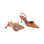 Authentic Second Hand Manolo Blahnik Lace Up Slingbacks (PSS-244-00013) - Thumbnail 2