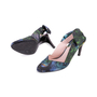 Authentic Second Hand Carven Botanical Slingback Bow Pumps (PSS-244-00014) - Thumbnail 4