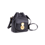 Authentic Second Hand Ralph Lauren Black Leather Ricky Drawstring Bag (PSS-117-00004) - Thumbnail 1