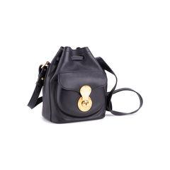 Ralph lauren black leather ricky drawstring bag 3?1554094710