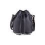 Authentic Second Hand Ralph Lauren Black Leather Ricky Drawstring Bag (PSS-117-00004) - Thumbnail 2