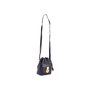 Authentic Second Hand Ralph Lauren Black Leather Ricky Drawstring Bag (PSS-117-00004) - Thumbnail 3