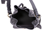 Authentic Second Hand Ralph Lauren Black Leather Ricky Drawstring Bag (PSS-117-00004) - Thumbnail 7