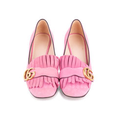 Pink Marmont 50 Suede Pumps