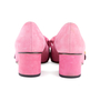 Authentic Second Hand Gucci Pink Marmont 50 Suede Pumps (PSS-117-00013) - Thumbnail 5