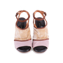Authentic Second Hand Dries Van Noten Velvet and Glitter Suede Sandals (PSS-117-00016) - Thumbnail 0