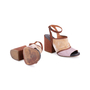 Authentic Second Hand Dries Van Noten Velvet and Glitter Suede Sandals (PSS-117-00016) - Thumbnail 2