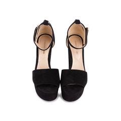 Pearl Platform Ankle Strap Sandal